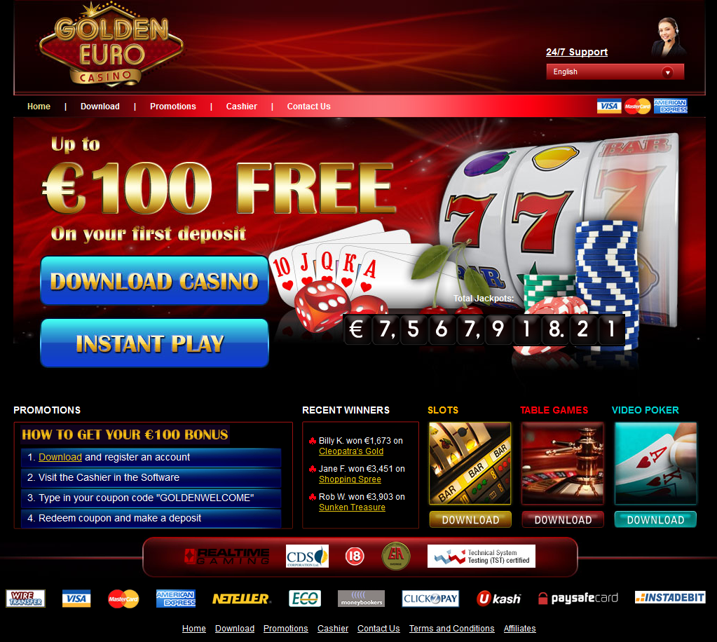 Golden Euro Casino : l'avis de la rédaction